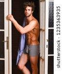 seductive lover full of desire. ...   Shutterstock . vector #1235363935