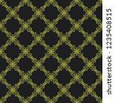 seamless decorative vector... | Shutterstock .eps vector #1235408515