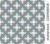 seamless decorative vector... | Shutterstock .eps vector #1235408518
