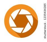 lens movie vector icon  modern... | Shutterstock .eps vector #1235434285