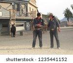 tabernas  almeria spain   08 15 ...   Shutterstock . vector #1235441152