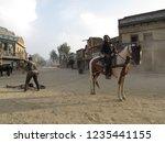 tabernas  almeria spain   08 15 ...   Shutterstock . vector #1235441155
