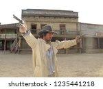 tabernas  almeria spain   08 15 ...   Shutterstock . vector #1235441218
