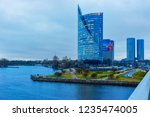 riga  latvia   december 27 ... | Shutterstock . vector #1235474005