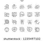 neurology well crafted pixel... | Shutterstock .eps vector #1235497102