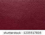burgundy leather texture or... | Shutterstock . vector #1235517835