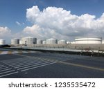 oil refinery image from iphone | Shutterstock . vector #1235535472