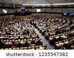 brussels  belgium. 20th nov....   Shutterstock . vector #1235547382