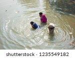 kolkata  india 16 january 2018  ... | Shutterstock . vector #1235549182