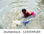 kolkata  india 16 january 2018  ... | Shutterstock . vector #1235549185
