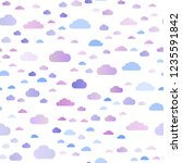 light pink  blue vector... | Shutterstock .eps vector #1235591842