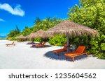 maldives   june 24  2018 ...   Shutterstock . vector #1235604562