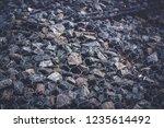 gabion protective wall | Shutterstock . vector #1235614492