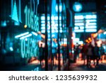 display stock market data | Shutterstock . vector #1235639932
