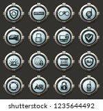 security and protection vector... | Shutterstock .eps vector #1235644492