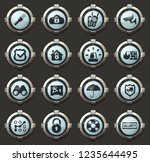 security and protection vector... | Shutterstock .eps vector #1235644495