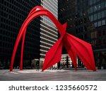 chicago  illinois   usa  ... | Shutterstock . vector #1235660572