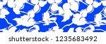 metric flowers pattern | Shutterstock . vector #1235683492