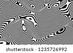 optical illusion lines... | Shutterstock .eps vector #1235726992