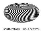 optical illusion lines... | Shutterstock .eps vector #1235726998