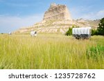scotts bluff national monument... | Shutterstock . vector #1235728762