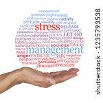 burst the stress management...   Shutterstock . vector #1235793538