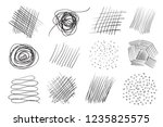backgrounds with array of lines.... | Shutterstock .eps vector #1235825575