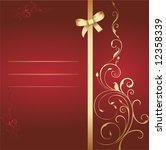 beautiful card   Shutterstock .eps vector #12358339