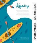 Kayaing Poster. River Raft ...