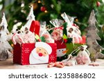 christmas and new year gifts... | Shutterstock . vector #1235886802