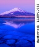 mt fuji  in the early morning....   Shutterstock . vector #1235910958