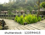 natural resort and hot spa... | Shutterstock . vector #123594415