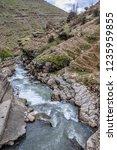 beautiful rivers between... | Shutterstock . vector #1235959855
