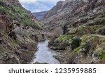 beautiful rivers between... | Shutterstock . vector #1235959885