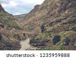 beautiful rivers between... | Shutterstock . vector #1235959888