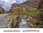 beautiful rivers between... | Shutterstock . vector #1235959912