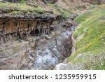 beautiful rivers between... | Shutterstock . vector #1235959915