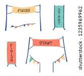 vector illustration of start... | Shutterstock .eps vector #1235969962
