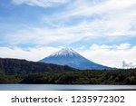 mt.fuji from saiko lake   Shutterstock . vector #1235972302