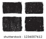 vector grunge stamps.distress... | Shutterstock .eps vector #1236007612