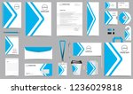 corporate identity set.... | Shutterstock .eps vector #1236029818