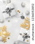 christmas background. festive... | Shutterstock .eps vector #1236052852