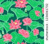 beautiful seamless background... | Shutterstock .eps vector #1236061732