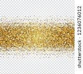golden glitter abstract...   Shutterstock .eps vector #1236076012