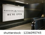 passion for fashion signboard... | Shutterstock . vector #1236090745