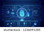cyber abstract technology ui...