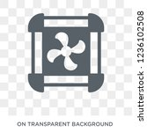 computer fan icon. trendy flat... | Shutterstock .eps vector #1236102508