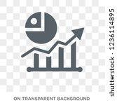 market trends icon. market... | Shutterstock .eps vector #1236114895
