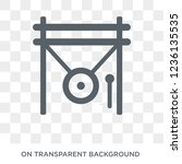 gong icon. gong design concept...   Shutterstock .eps vector #1236135535