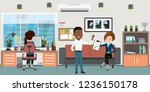business people or office... | Shutterstock .eps vector #1236150178